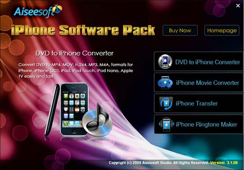 iphone software pack
